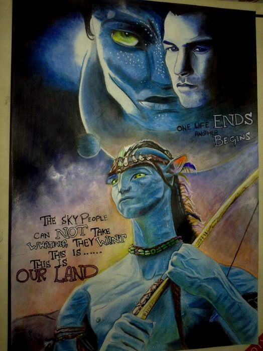 Avatar (film) par Sahar